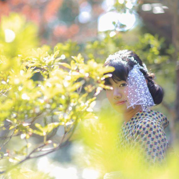名古屋のフォトスタジオで撮影したおしゃれな七五三写真