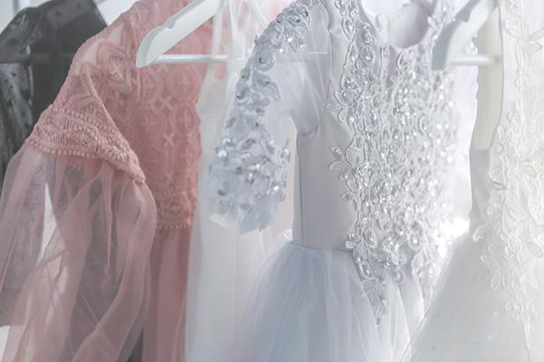 ハーフ成人式のドレス