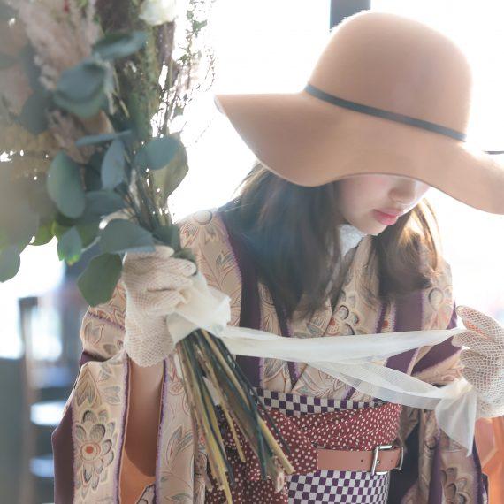 名古屋のハーフ成人式撮影