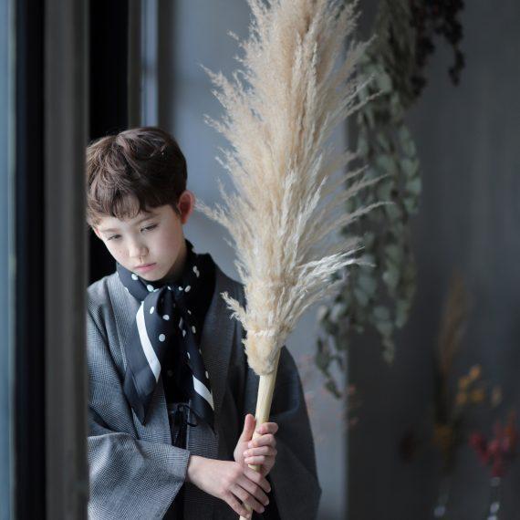 名古屋のおしゃれなハーフ成人式撮影