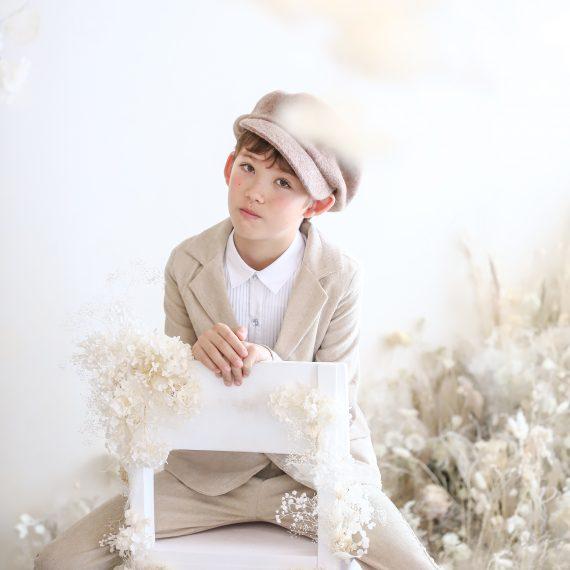 名古屋のおしゃれなフォトスタジオで撮影したハーフ成人式の写真