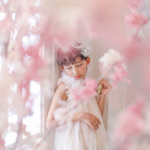 名古屋のおしゃれなフォトスタジオで撮影した七五三写真