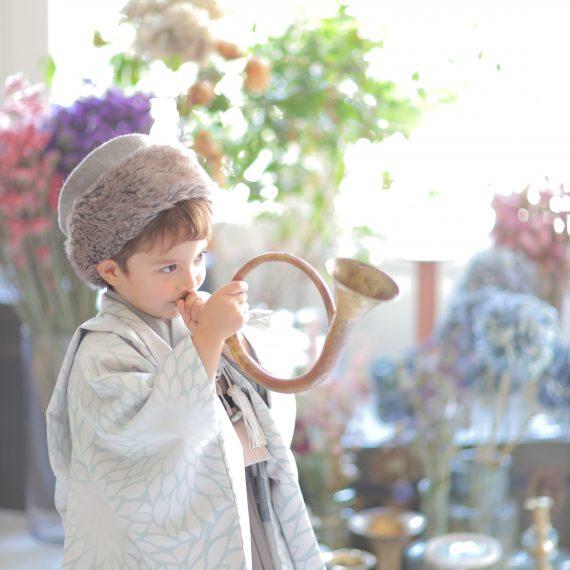 名古屋で撮影したおしゃれな七五三撮影