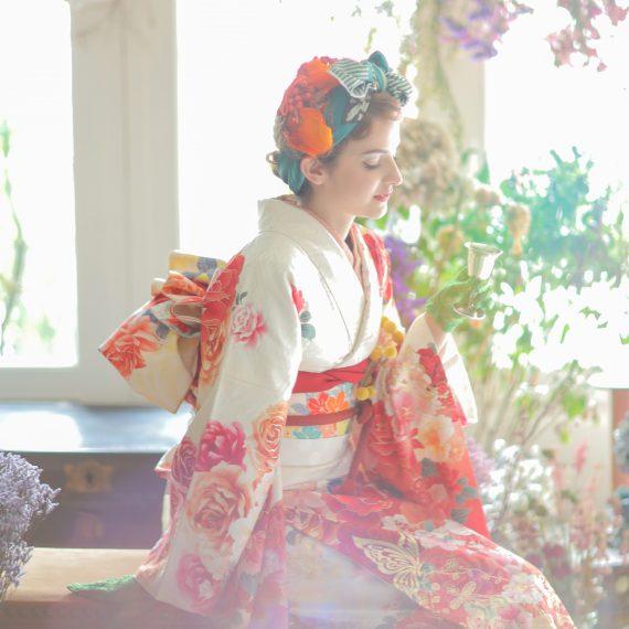 おしゃれな名古屋の成人式写真