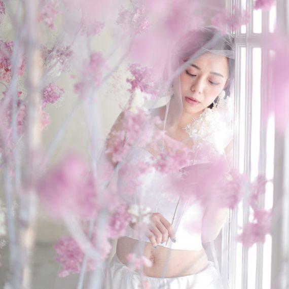 名古屋のおしゃれなフォトスタジオで撮影した結婚写真