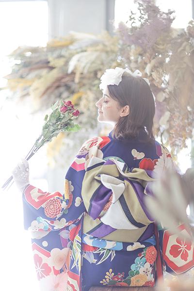 名古屋で撮影した成人式写真