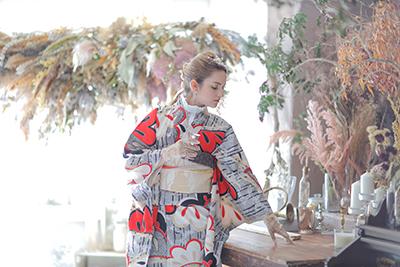 名古屋で撮影した成人式の前撮り